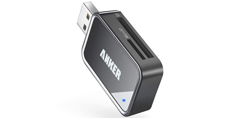 anker 8-in-1 usb 3 0 portable card reader