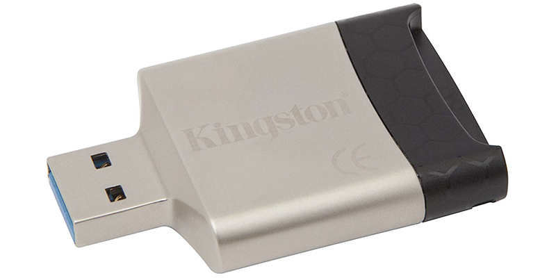 kingston digital usb 3 0 portable card reader fcr-mlg4